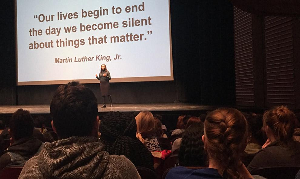 #BlackLivesMatter co-founder challenges those who stay silent