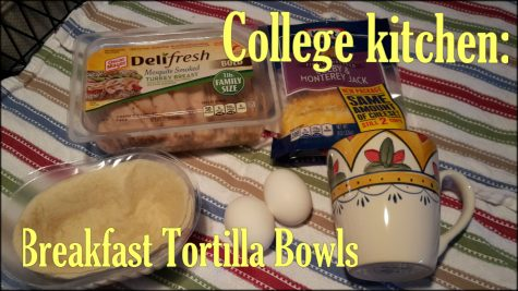 College Kitchen: Breakfast Tortilla Bowls