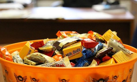 Where is the best candy dish on campus?