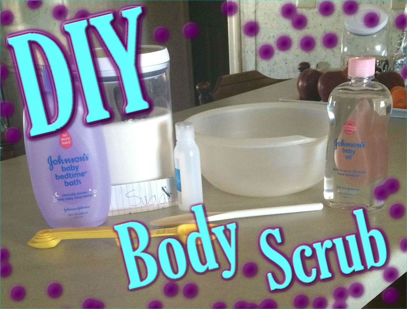 DIY: Quick and Easy Body Scrub