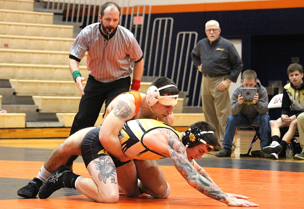 Five wrestlers headed to NAIA championships