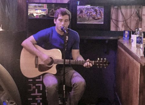 Matthew Hamm makes acoustic debut at the Salt Mine