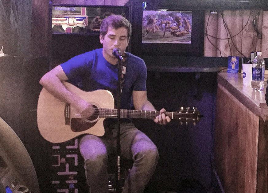 Matthew Hamm makes acoustic debut at the Salt Mine