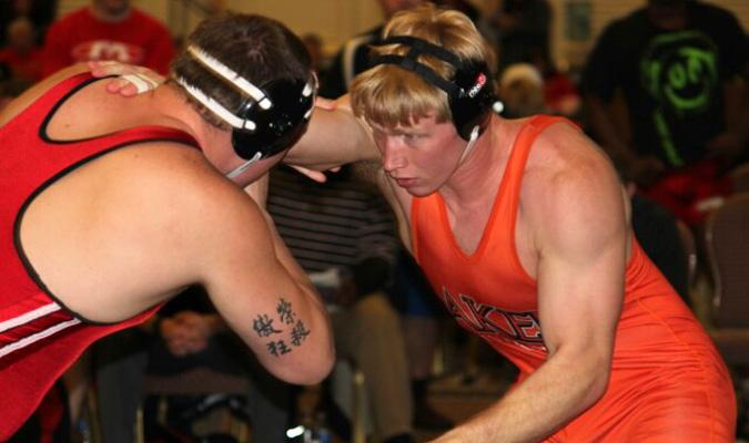 Gebhardt defeats No. 1 NAIA wrestler