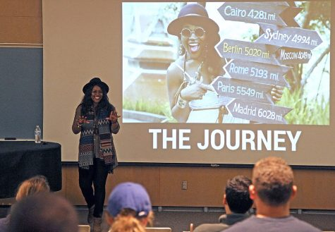 Karl Konzi helps define 'swag' on campus