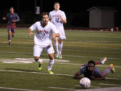 Men's soccer shuts out MNU 3-0 on Rivalry Night