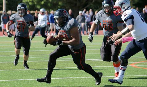 Football improves to 6-1 with win over CMU