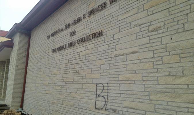 Two juveniles confess to campus vandalism
