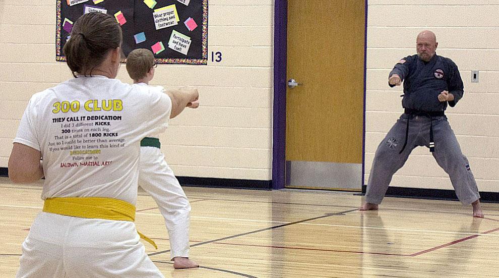 Baldwin Martial Arts focuses on family participation