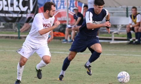 Men's soccer season ends in national tournament