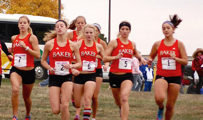 Runners finish first, second at Haskell Invite