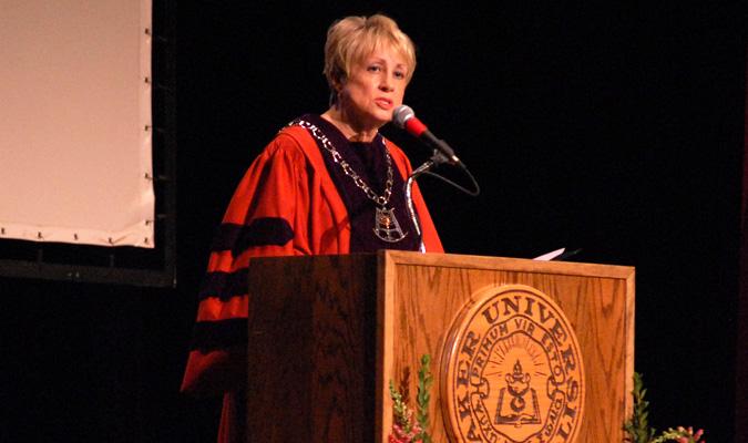 University President Pat Long announces retirement for June 2014