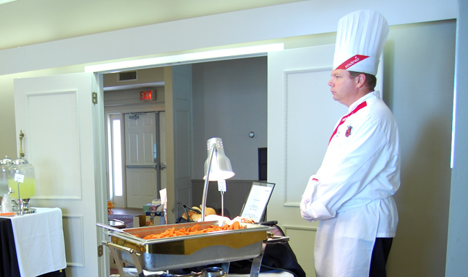 Sodexo showcases dining services