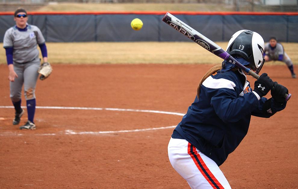 Softball earns sweep in home opener