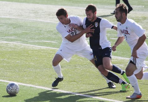 Men's soccer stays perfect in conference play