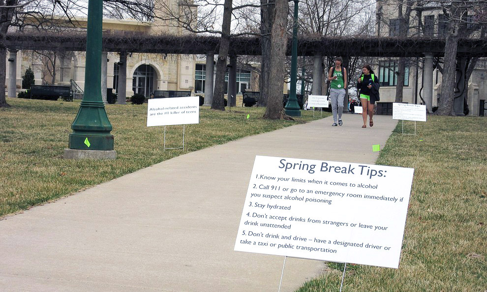 SAC educates students about spring break risks