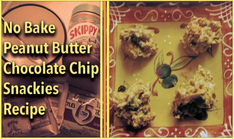 College Kitchen: No Bake Peanut Butter Chocolate Chip Snackies