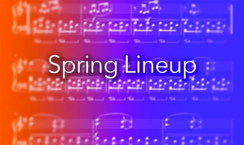 Department of Music and Theatre spring lineup