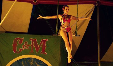 Family circus visits Baldwin City