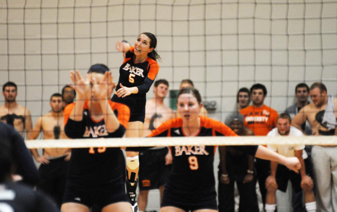 Volleyball team drops HAAC final