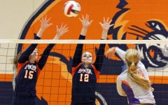 Volleyball takes Evangel in three sets