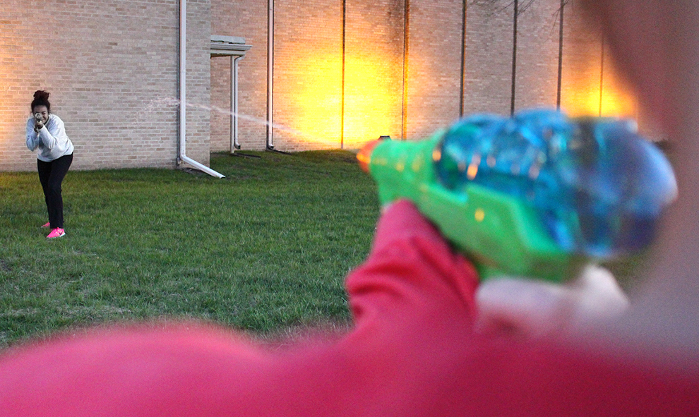 Water Wars competition aims to relieve stress