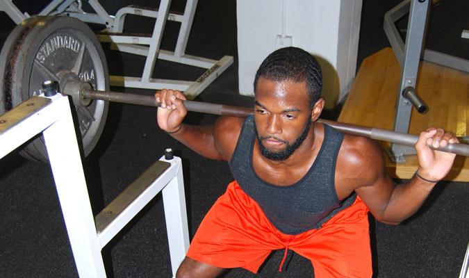 Regalado emphasizes lifting safely