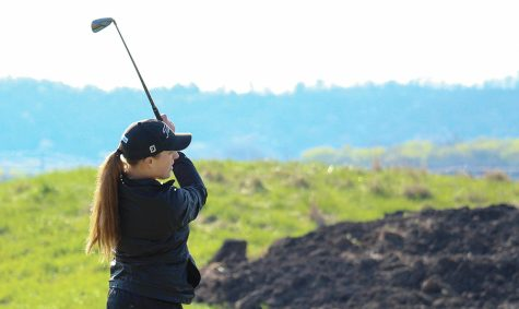 Mateer, women's golf finish regular season with win