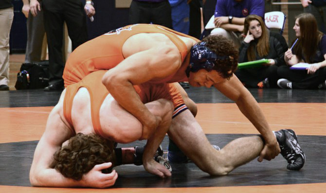 Wrestlers finish fourth in NAIA regional