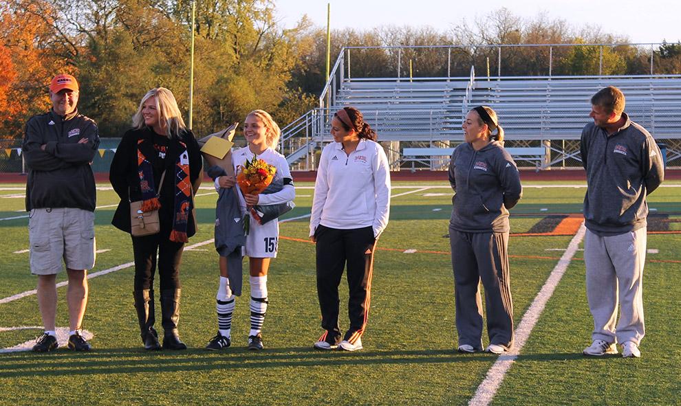 Women's soccer finishes regular season second in Heart