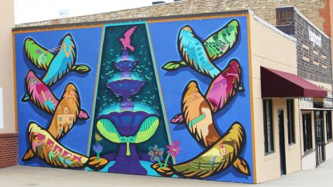 Mural brings beauty to Baldwin City