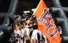 Baker football falls to Missouri Valley