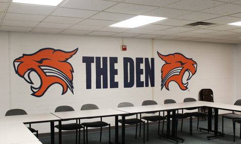 Student meetings held in 'The Den'