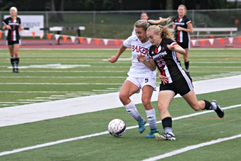 Soccer defeats Evangel at home