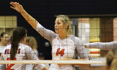 Volleyball season ends against CMU