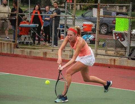 Tennis wraps up fall season