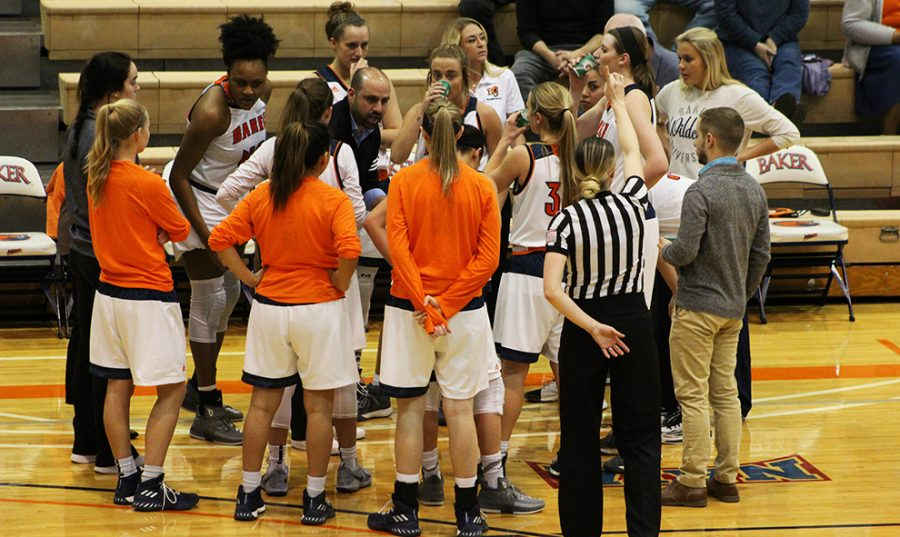 Womens+basketball+opens+up+season+at+KCAC+Classic