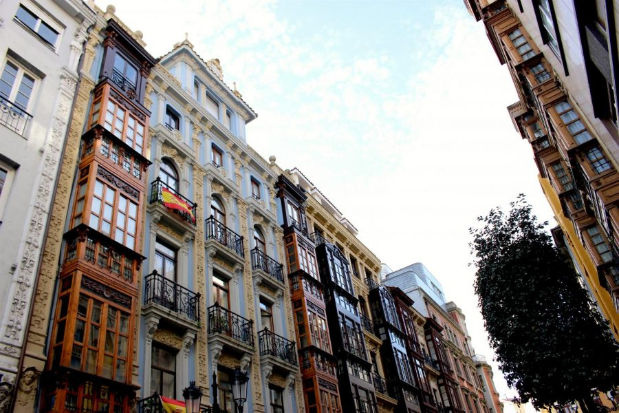 Students travelled to Oviedo, Spain while studying abroad. Oviedo is located in the north of the country.