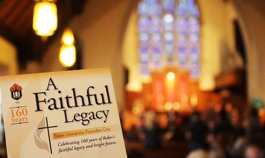 Baker University celebrates 160 years of being an institution on Feb. 8. The celebration was held at the Baldwin First United Methodist Church at 11 a.m.