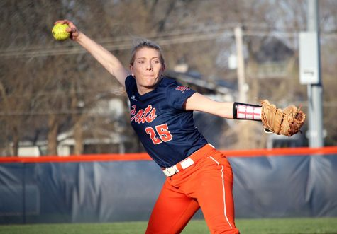 Softball splits with Benedictine