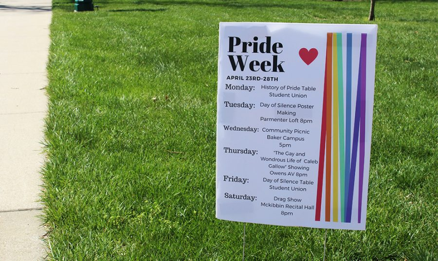The Total Equality Alliance club hosts Pride Week during the week of April 23. There are events to support gender equality Monday through Saturday.