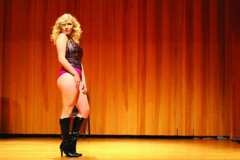 Pride displayed through drag show