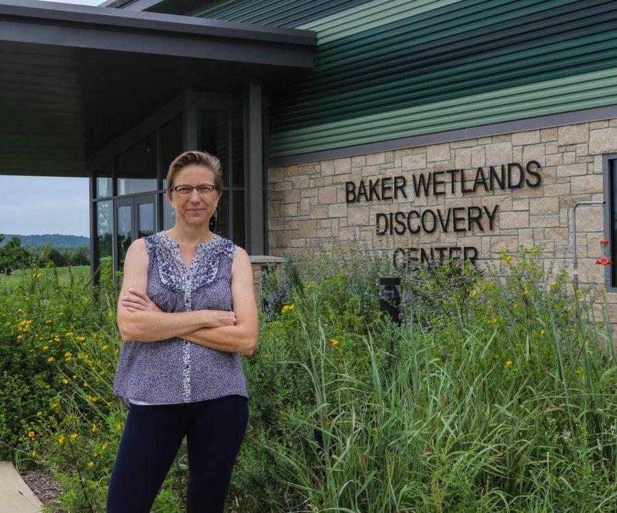 Irene Unger, Director of the Baker Wetlands and Associate Professor of Biology