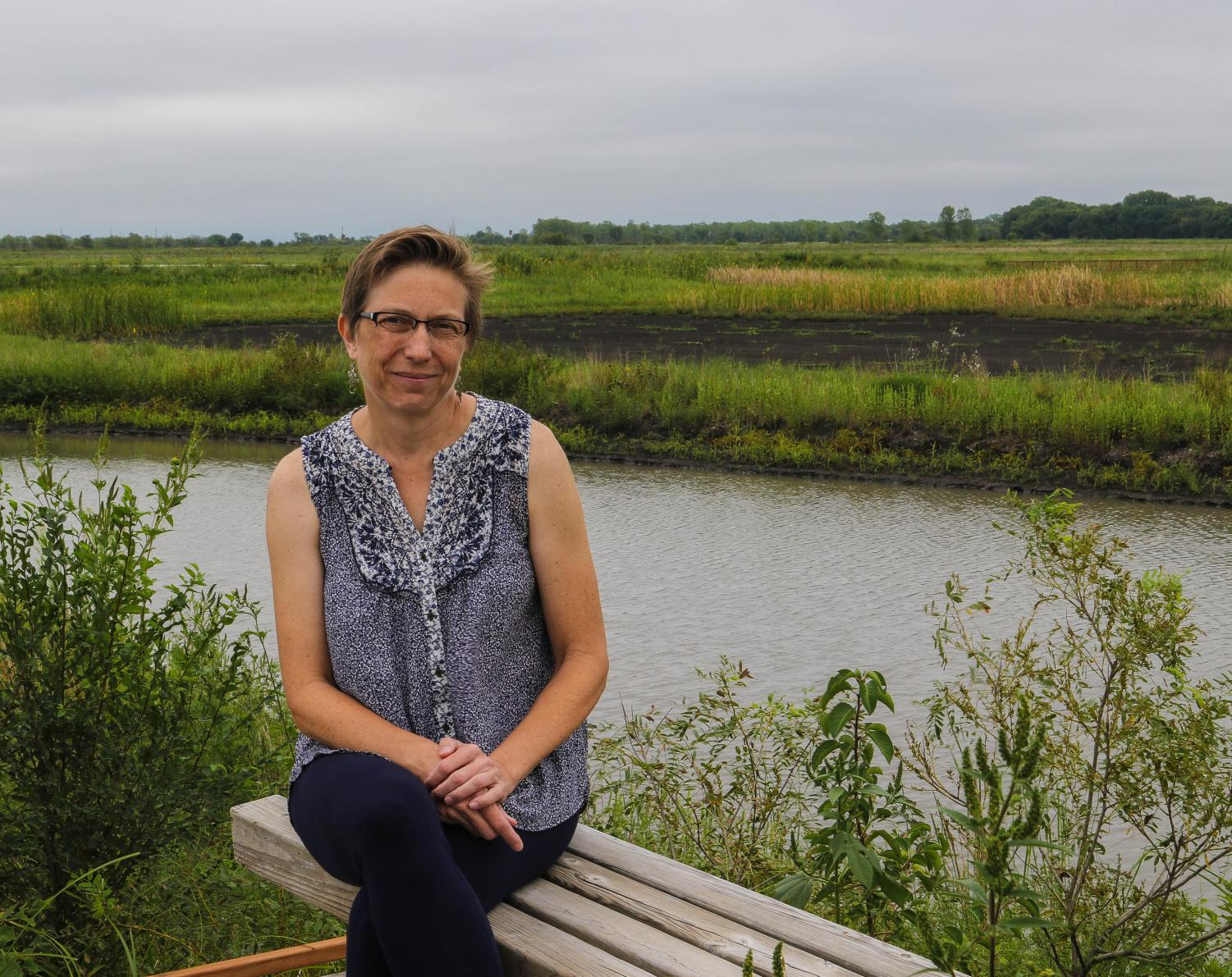 Director of the Baker Wetlands and Associate Professor of Biology Irene is one of the new professors welcomed to campus this semester.