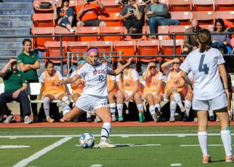 Women's soccer team earns first Heart win