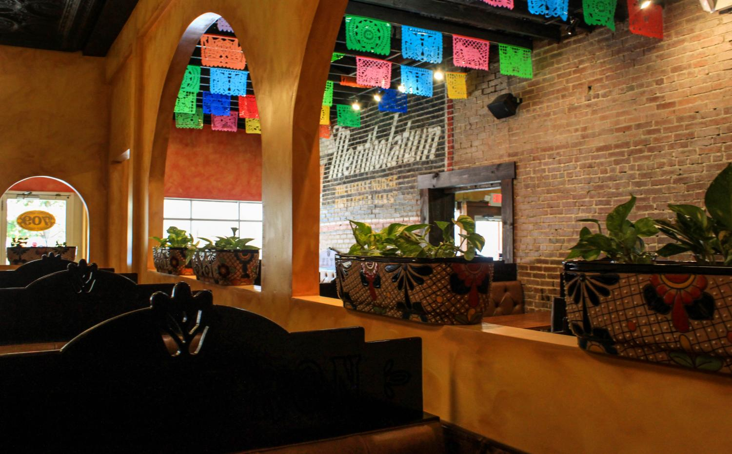 The newly added section of El Patron embraces its inviting setting. The expansion allows for more people to enjoy the exceptional food and service provided.