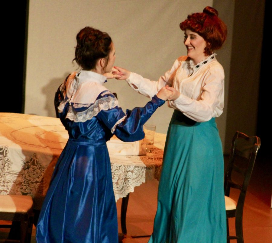 The Play Blood Relations was performed on November 8, 9 and 10th for the public. Names?