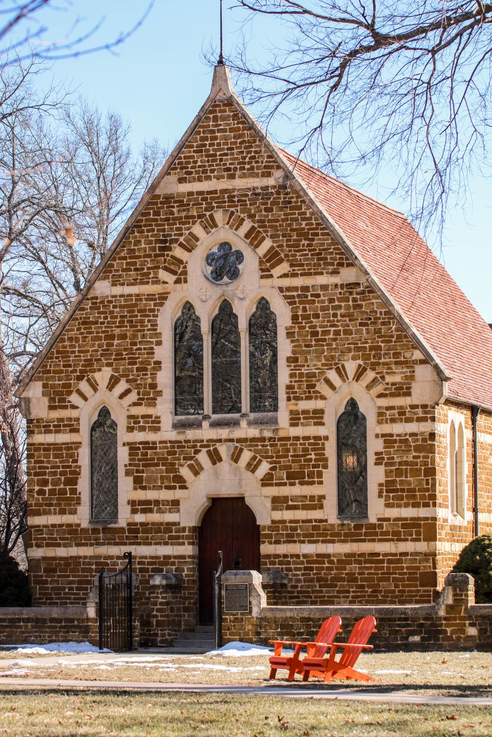 The University Chapel holds services every Thursday at 11 a.m.