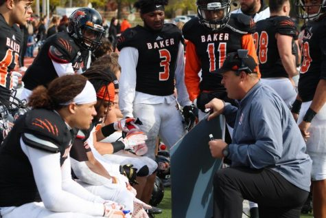 Baker football falls to Missouri Valley