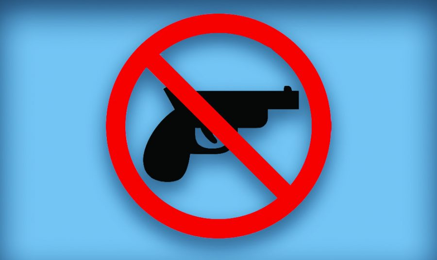 Lawrence High School confiscates guns